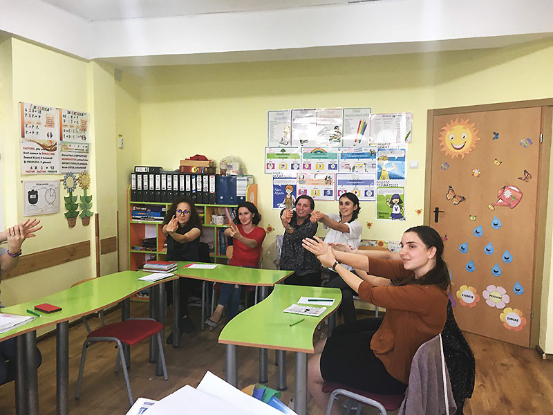 Colectiv - scoala primara Lorelay din Iasi